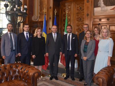 I ministri e le delegazioni
