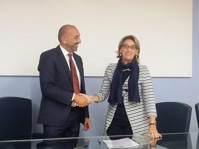 Leonardo Carmenati e Gemma Tuccillo