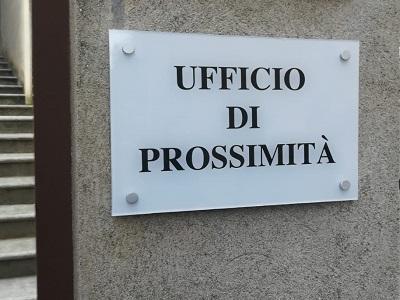 Targa dell'Ufficio di prossimità
