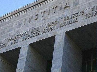 Facciata della Corte d'Appello di Milano