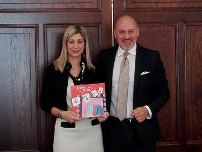 Edy Marruchi, presidente Girotondo intorno al sogno ASP e lorenzo Ciavani di Sanimpresa