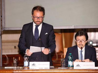 Alfonso Bonafede e Riccardo Fuzio