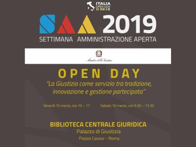 locandina open day giustizia