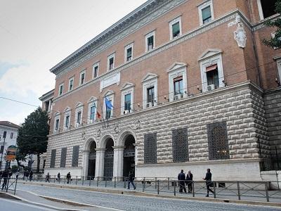 Il palazzo del Ministero di Giustizia di via Arenula a Roma (foto Doriano Ciardo)