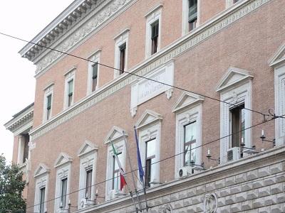 La facciata del Ministero della Giustizia. Foto di Doriano Ciardo