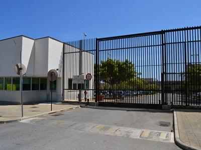 Entrata carcere Pagliarelli di PalermoEntrata carcere Pagliarelli di Palermo