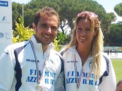 Stefano Ciallella e Annalisa Minetti
