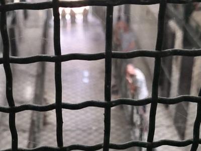 Interno del carcere di Poggioreale