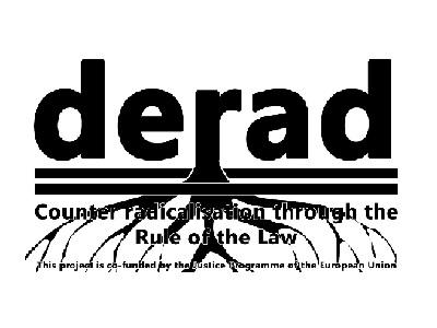 Il simbolo del progetto DERAD per la gestione e il monitoraggio degli estremisti violenti e radicalizzati dopo il rilascio