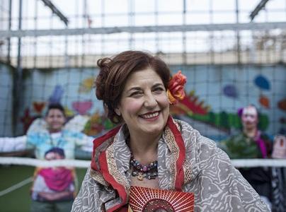 Donatella Massimilla regista teatrale del CETEC Fuori e Dentro San Vittore