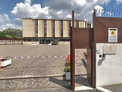 La sede del Dipartimento per la Giustizia Minorile e di Comunità di via Chiesa a Roma