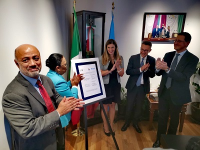 firma del memorandum a città del Messico
