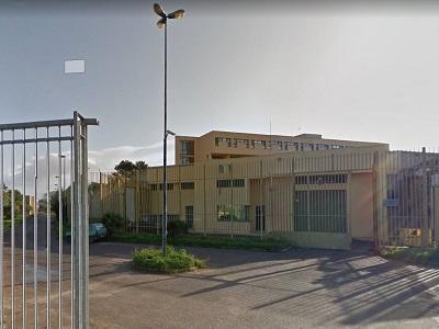 """L'ingresso dell'Istituto Penale per Minori """"Quartucciu"""" di Cagliari"""
