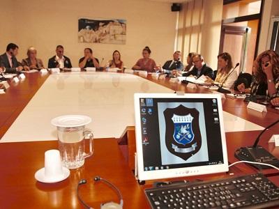 Riunione dei funzionari di El PacCto in visita a Roma nel settembre 2019