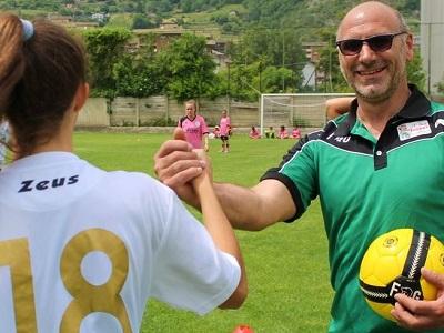 Marco Tomassi, agente di Polizia Penitenziaria con il 'pallino' del calcio femminile
