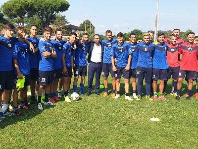Il ministro incontra calciatori Astrea