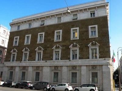 Una veduta di palazzo dei Marescialli, sede del Csm