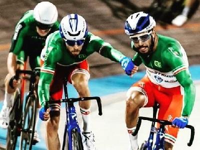 Lamon e Scartezzini Fiamme Azzurre Ciclismo su pista
