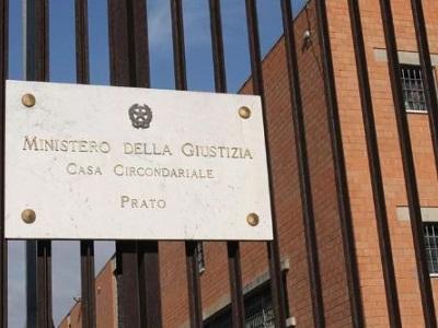 Ingresso del carcere di Prato