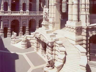 Cortile interno della Suprema Corte di Cassazione