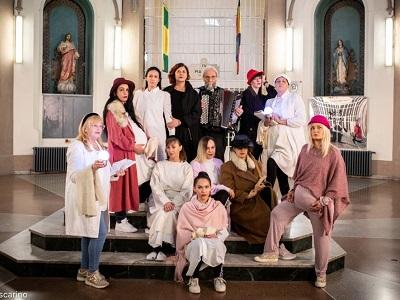 Decameron delle donne Donatella Massimilla Dentro/Fuori San Vittore CETEC