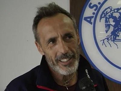Maurizio Dalia Santi tecnico Astrea Calcio
