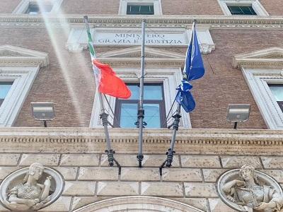 Facciata del Ministero di via Arenula - Foto di Doriano Ciardo