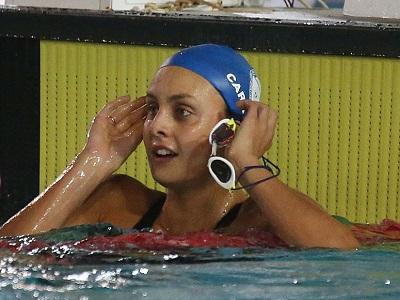 Martina Carraro Fiamme Azzurre nuoto