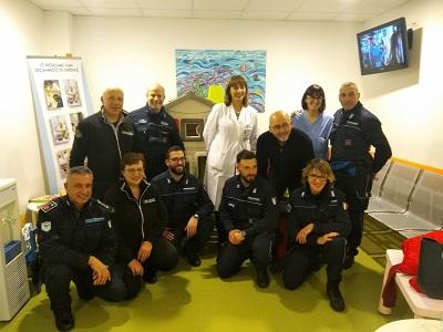 Iniziativa benedica agenti carcere di Udine in favore del reparto pediatrico dell'ospedale di Latisana