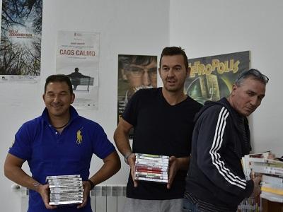 Catalogazione dei dvd della videoteca di Bologna a opera dei detenuti