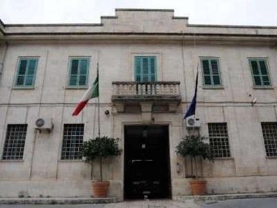 La facciata della casa circondariale di Ragusa