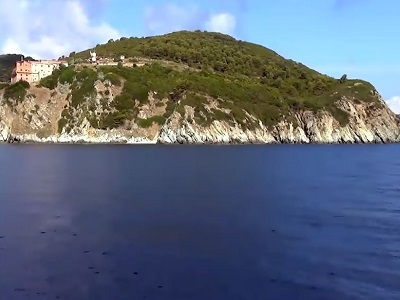 Casa circondariale sull'isola di Gorgona