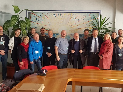 Delegazione di operatori penitenziari norvegesi nel carcere di Padova