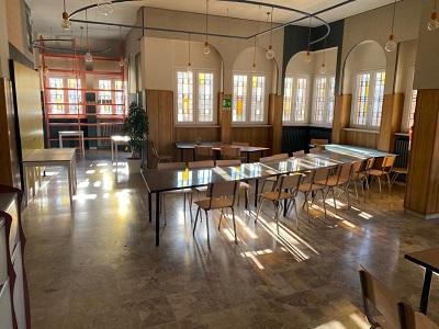 I nuovi locali del bar-spaccio del Lorusso & Cutugno