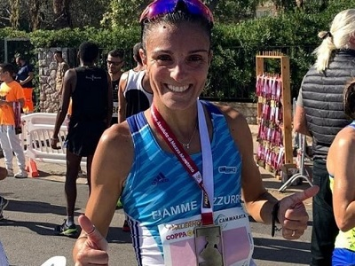 Anna Incerti Fiamme Azzurre Atletica