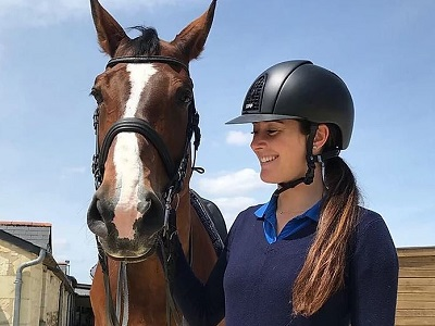 Ludovica Manzoli Equitazione Fiamme Azzurre