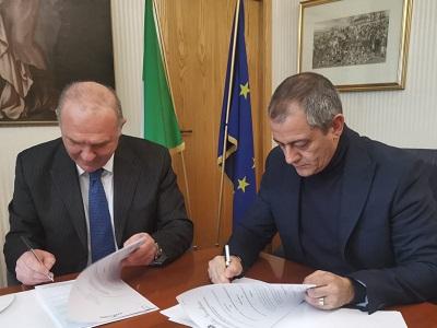 Marcello Saitta, BPM Montecitorio, e Francesco Basentini, capo DAP