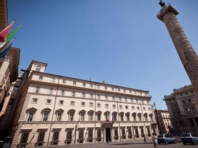 Palazzo Chigi sede della Presidenza del Consiglio