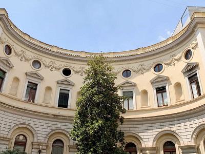 Cortile interno Ministero via Arenula - Foto di Doriano Ciardo