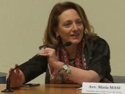 Maria Masi presidente facente funzioni del Consiglio nazionale forense