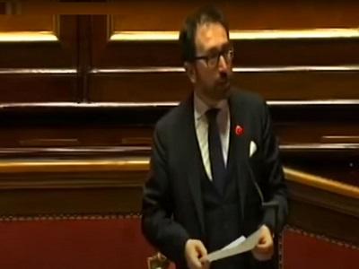 Alfonso Bonafede Question time Senato 7 maggio 2020