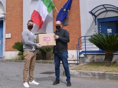 La A.S. Roma ha donato 2700 mascherine agli istituti penitenziari romani