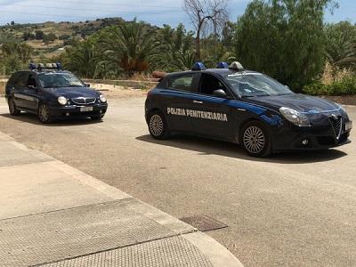 Auto del Nucleo Traduzioni e Piantonamenti della Polizia Penitenziaria di Agrigento