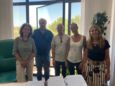 Lucia Castellano, Paolo Lanzilli, Marco Bracoloni, Simona Sebastiani, Catia Paluzzi