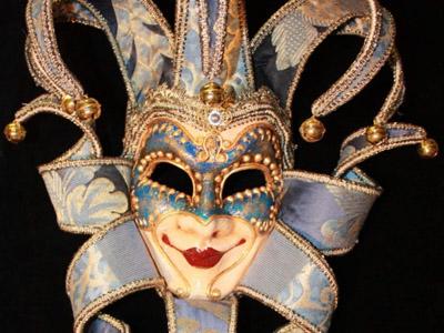 Maschera di cartapesta