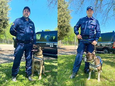 Cani antidroga del Gruppo di Asti
