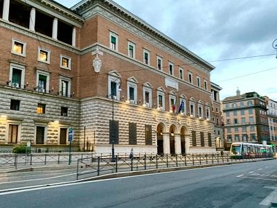 Palazzo del Ministero della Giustizia via Arenula Roma - Foto di Doriano Ciardo