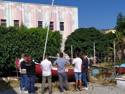 I ragazzi dell'USSM di Reggio Calabria