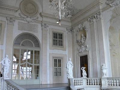 Interno del palazzo della Corte di Appello di Bologna