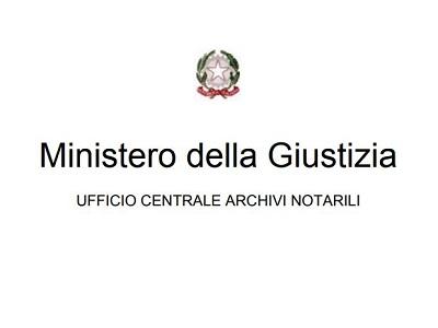 Logo Uffici Centrali degli Archivi Notarili UCAN